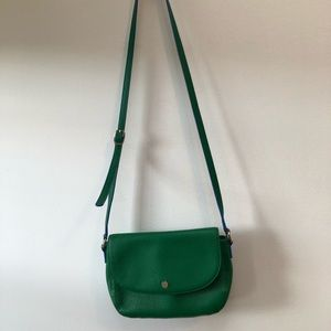 talbots Bags - Talbots Emerald Green Crossbody bag. Carried once